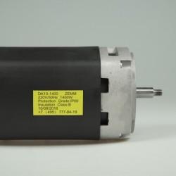 Электродвигатель коллекторный на мельницу для зерна DK10-1400
