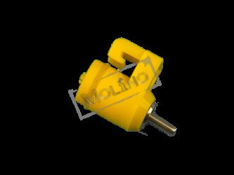 Ниппельная поилка с замком НПЗ-01 А (с шариковым запором)