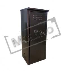 Шкаф для газового баллона ПЕТРОМАШ на 1 баллон 50 литров Коричневый